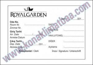 önbüro gelir fişi royal
