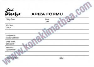 ARIZA FORMU