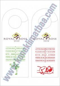 dnd kartı royal rose